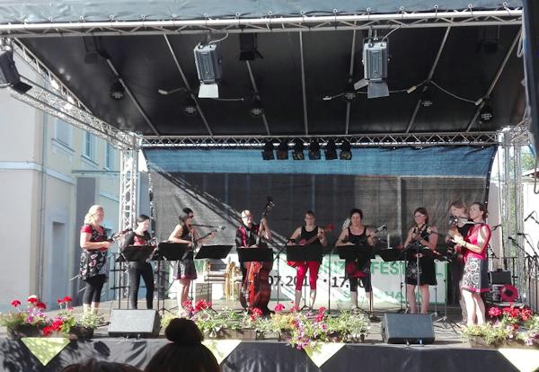 Tamburizzafestival in St. Johann, 08.07.2017