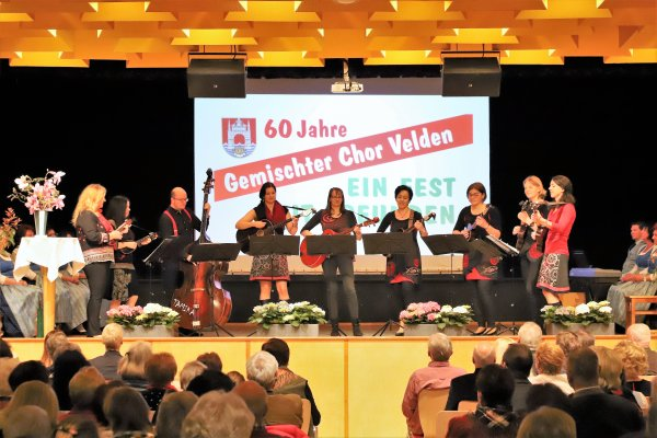 60-jähriges Bestandsjubiläum Gemischte Chor Velden