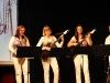Tatjana Pirker mit Saxophon